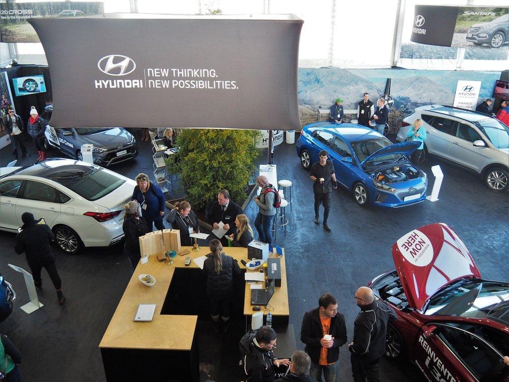 Hyundai at Fieldays