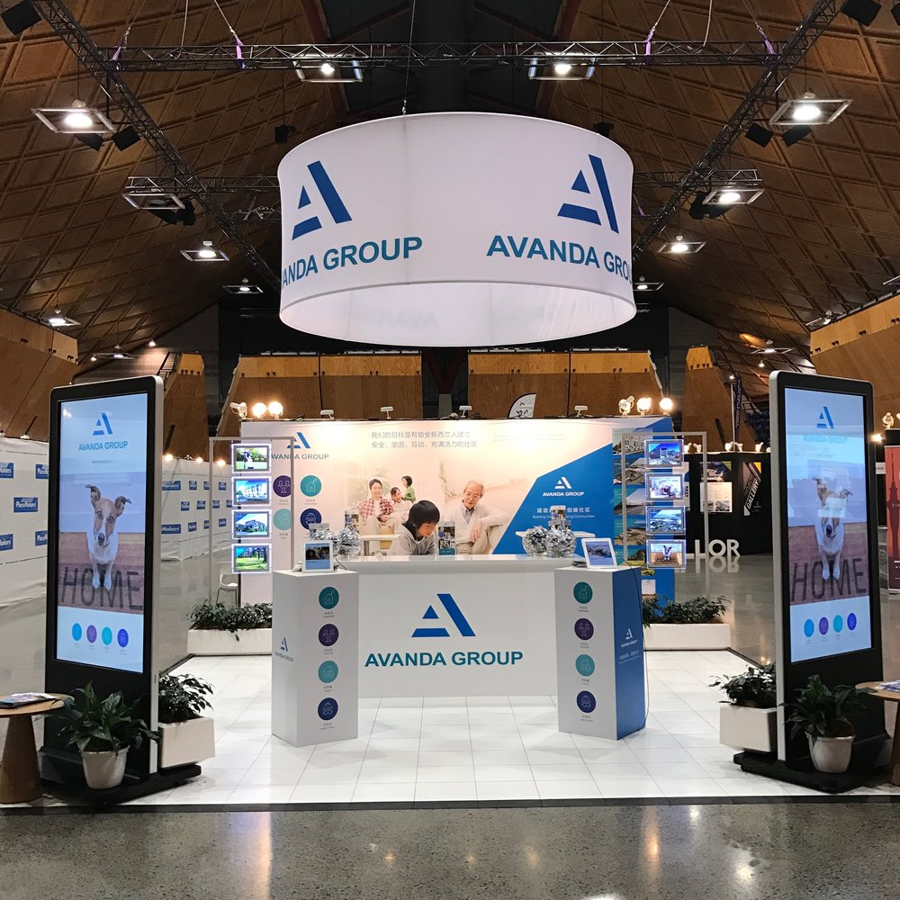 Avanda Group at NZ International Property & Building Expo           [Agency: Brown Fox]