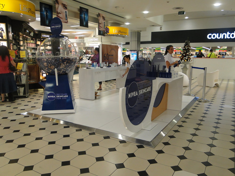 Nivea Skincare Mall Activation