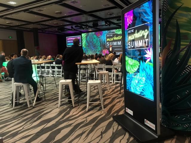 Digital Kiosk at The Marketing Summit 2017