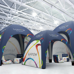 Inflatable tents and gazebos