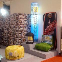 Illuminated tubes and inflatable sofas