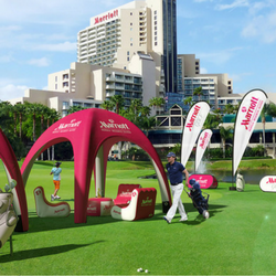Inflatable outdoor solutions