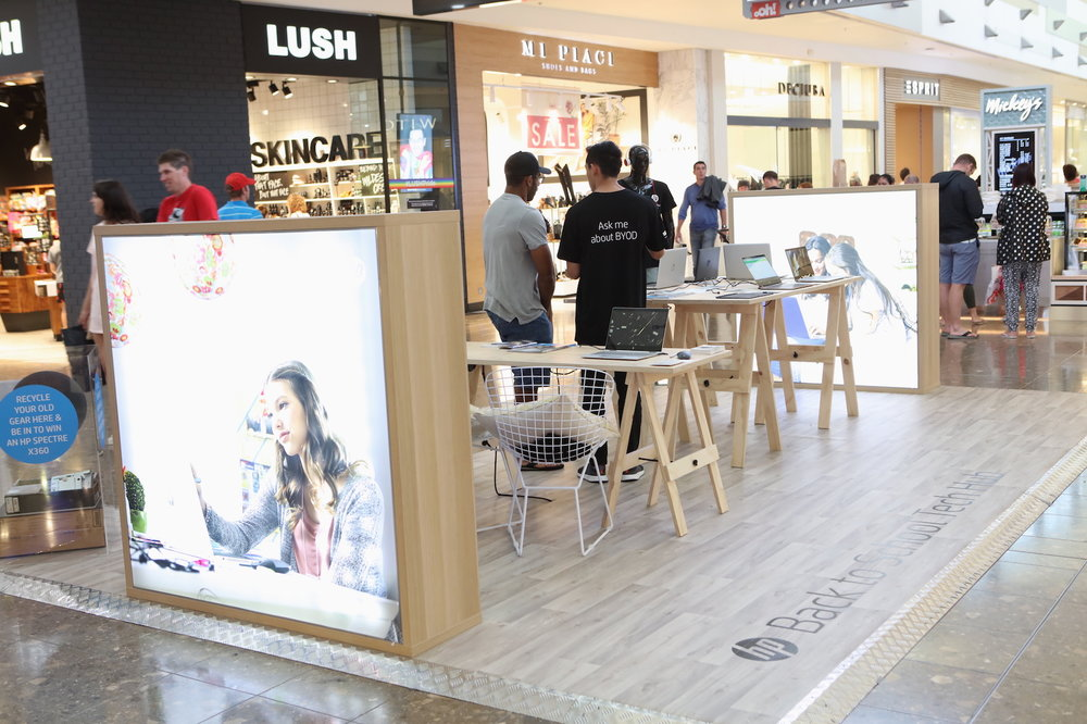 HP Mall Activation