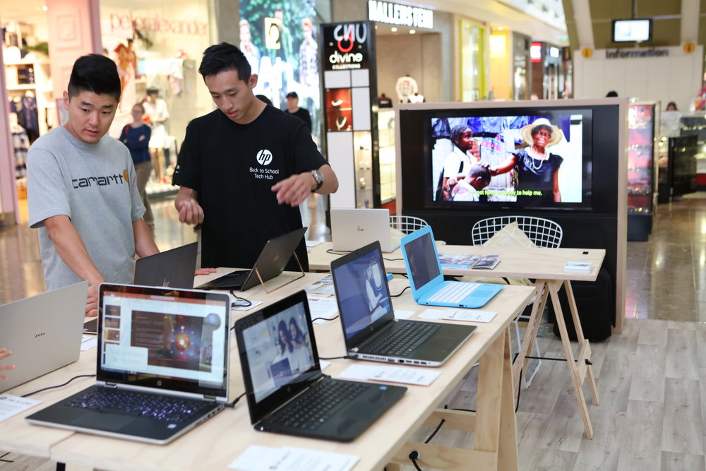 HP Mall Activation by Brand Productions