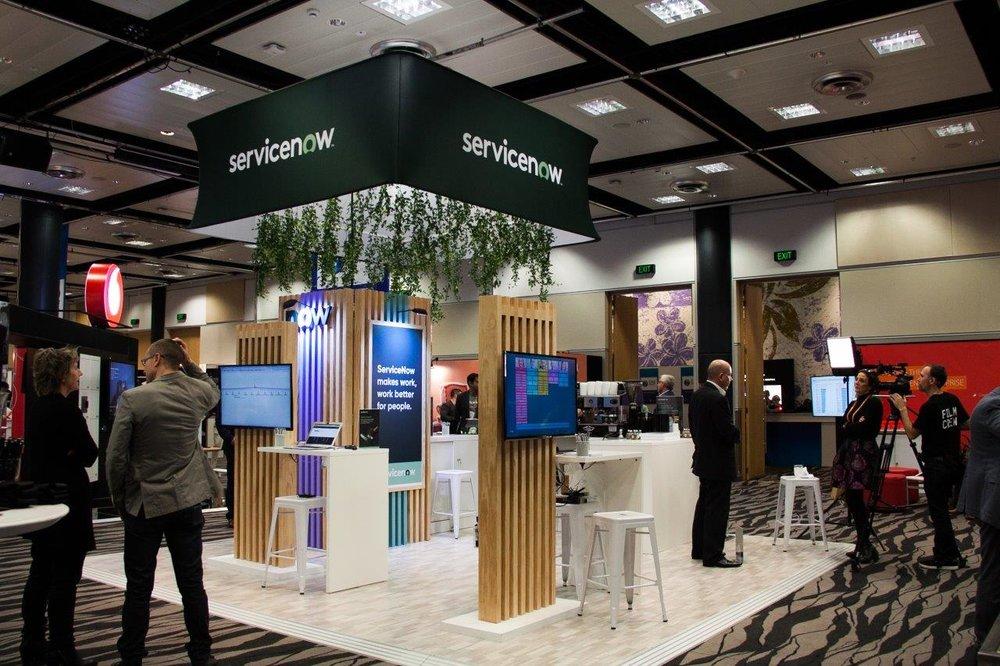 Servicenow Exhibition Stand