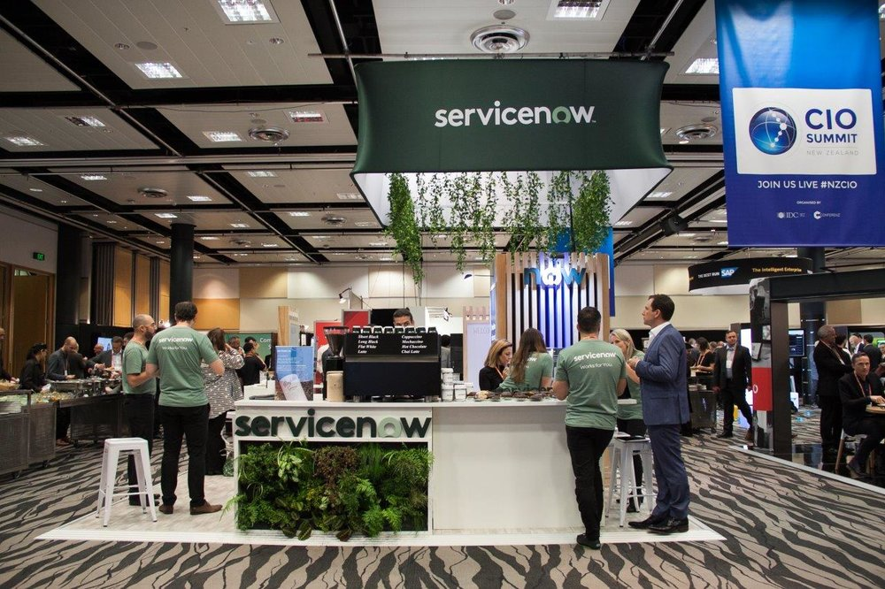 Servicenow Stand With Barista