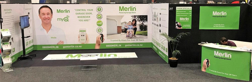 Merlin Exhibition Stand