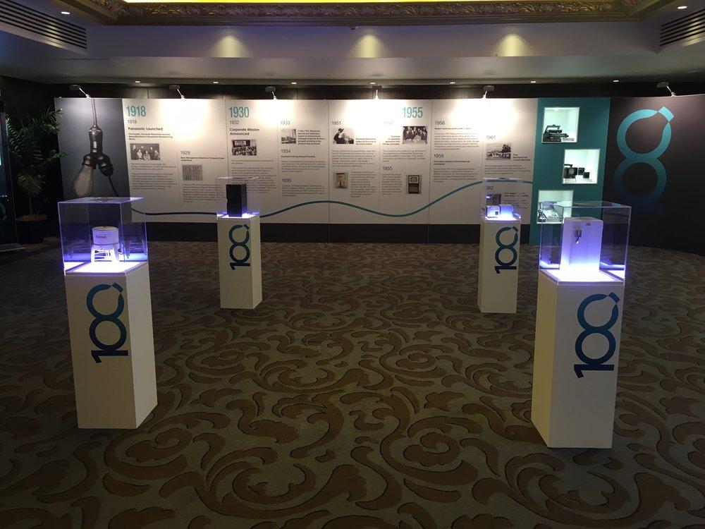 Panasonic centenary plinths and displays.JPG