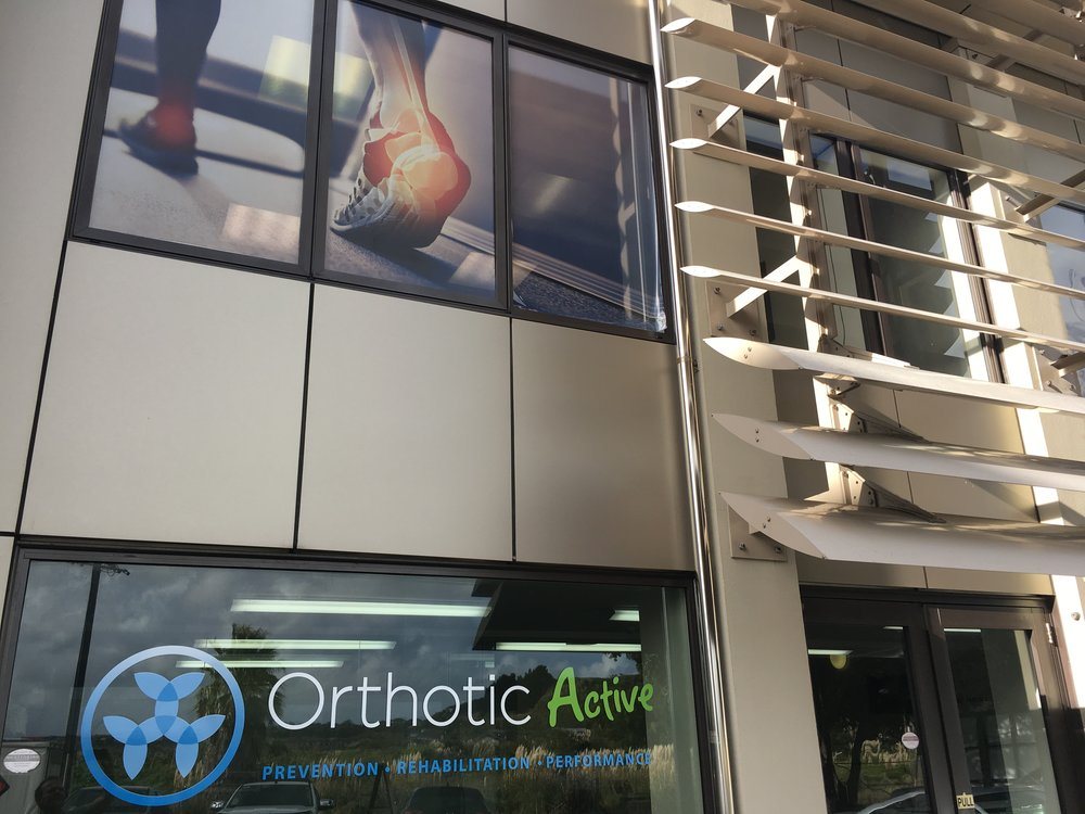 orthotic active window graphics
