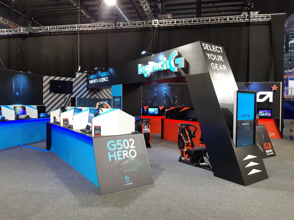 Logitech Exhibition Stand
