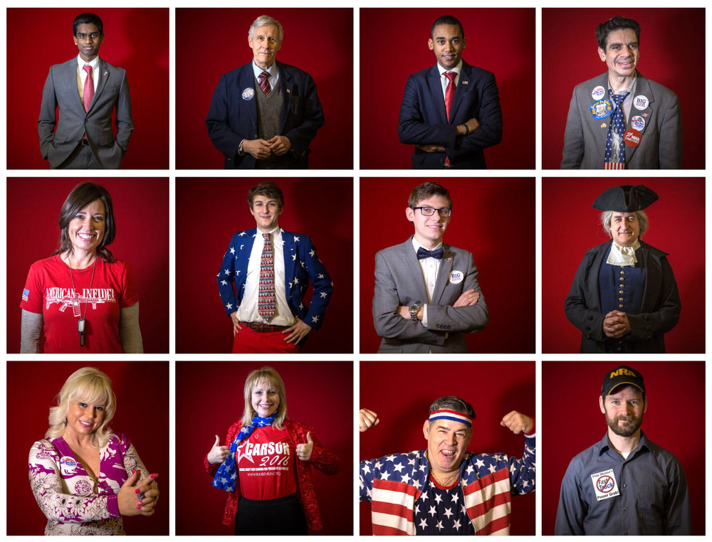 The many faces of CPAC, the Conservative Political Action Conference, in Washington, DC.