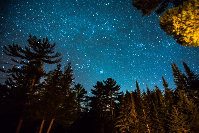 Night Sky, Northern Michigan Sky, Under the Stars, Camp, Kayak, Nature