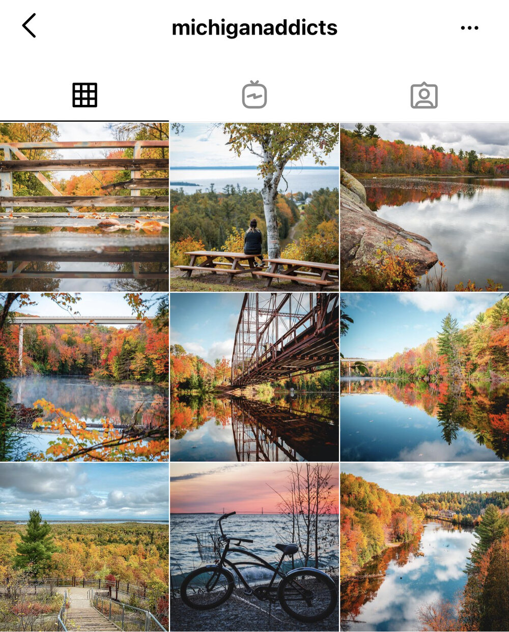 Michigan Addicts:     We tend to re-share a lot of their pictures because they are just SO good. We had the pleasure of meeting Joey and Jessica this season on Mackinac and they are such a great couple! It's fun to meet the people we follow on Instagram - give them a follow for some great Michigan shots!