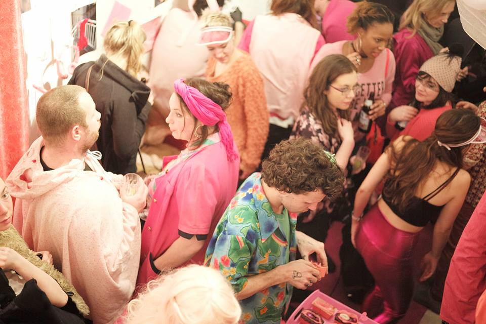 Pinker Glamour @ puderpink © Sophie le Roux