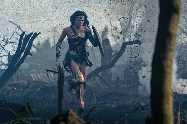 Toughness derzeit im Kino: Wonderwoman