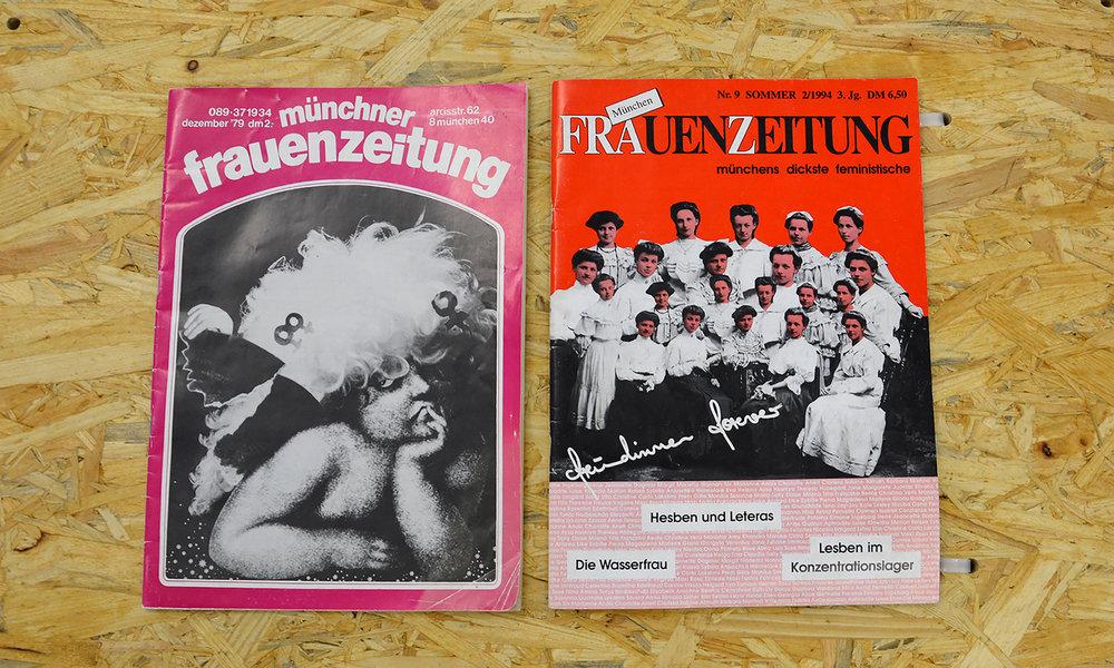 Nicht aus dem Hause Burda: die Münchner Frauenzeitung