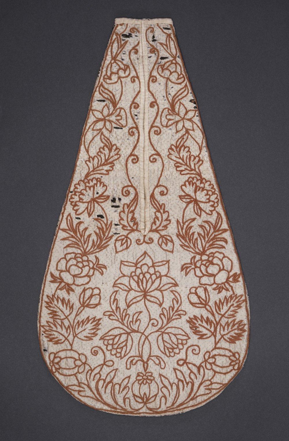 Eine Frauentasche aus dem 18. Jahrhundert