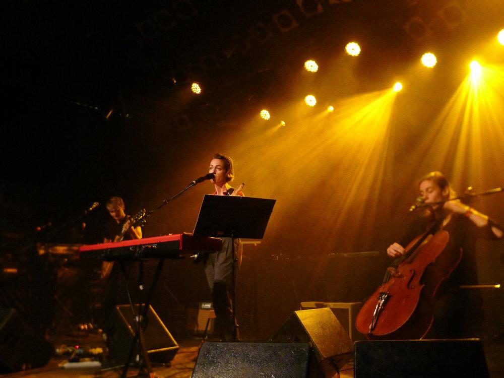 Charlotte Brandi und ihre fabelhafte Band