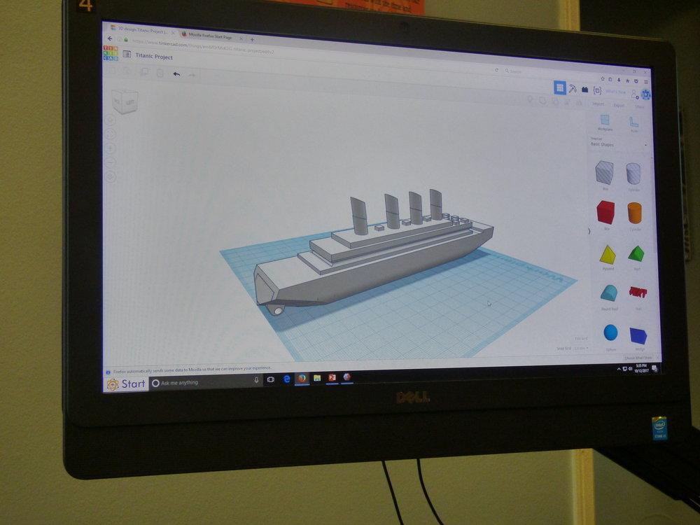 3D designed Titanic.JPG