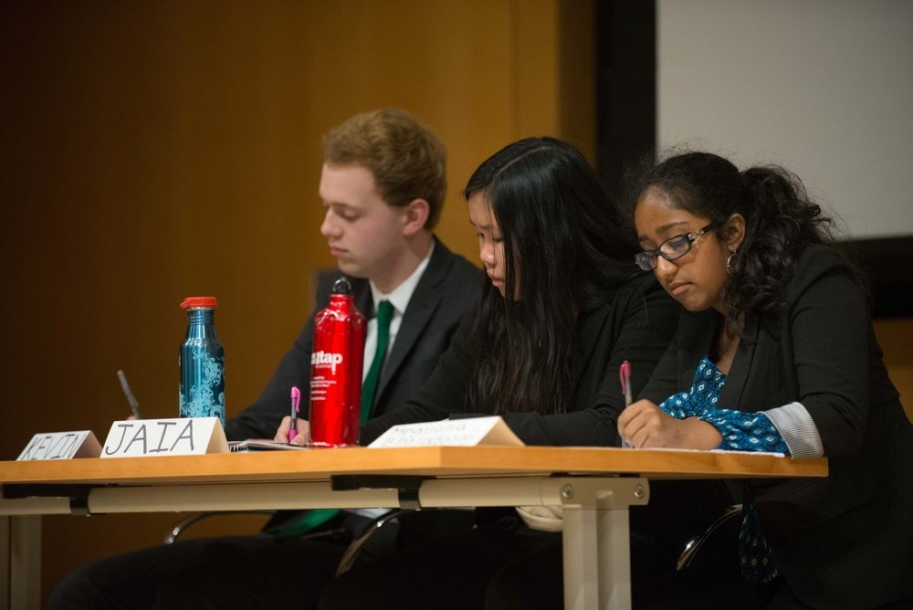 Kevin Kowalewski '17, Jaia Clingham-David '20, and Meghana Bharadwaj '20 debate Obama's legacy.