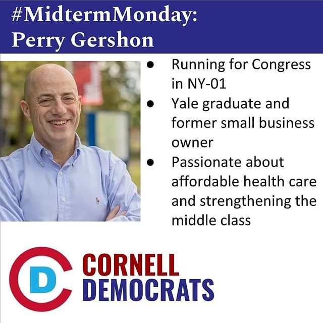 Happy final #MidtermMonday! This week, we're featuring @perry4congress!