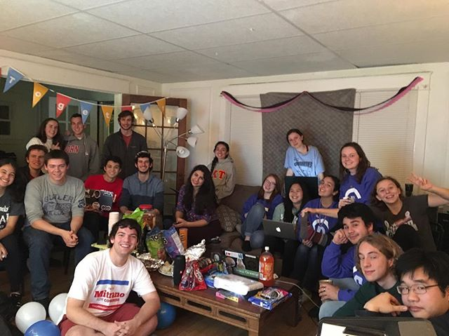 Dems viewing party! So happy to be all together as a Dems family to watch the results roll in tonight #BlueWave