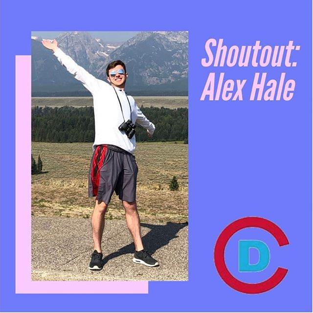 "Say hello to Alex Hale, the subject of our third shout-out! ""Alex is a immensely valuable member of the Cornell Dems. He has a quiet way of being there for everyone, remembering when they have important things coming up in their lives. Also, he reps ILR and could likely beat us all with his knowledge of labor law. We are very lucky to have Alex #2!"""
