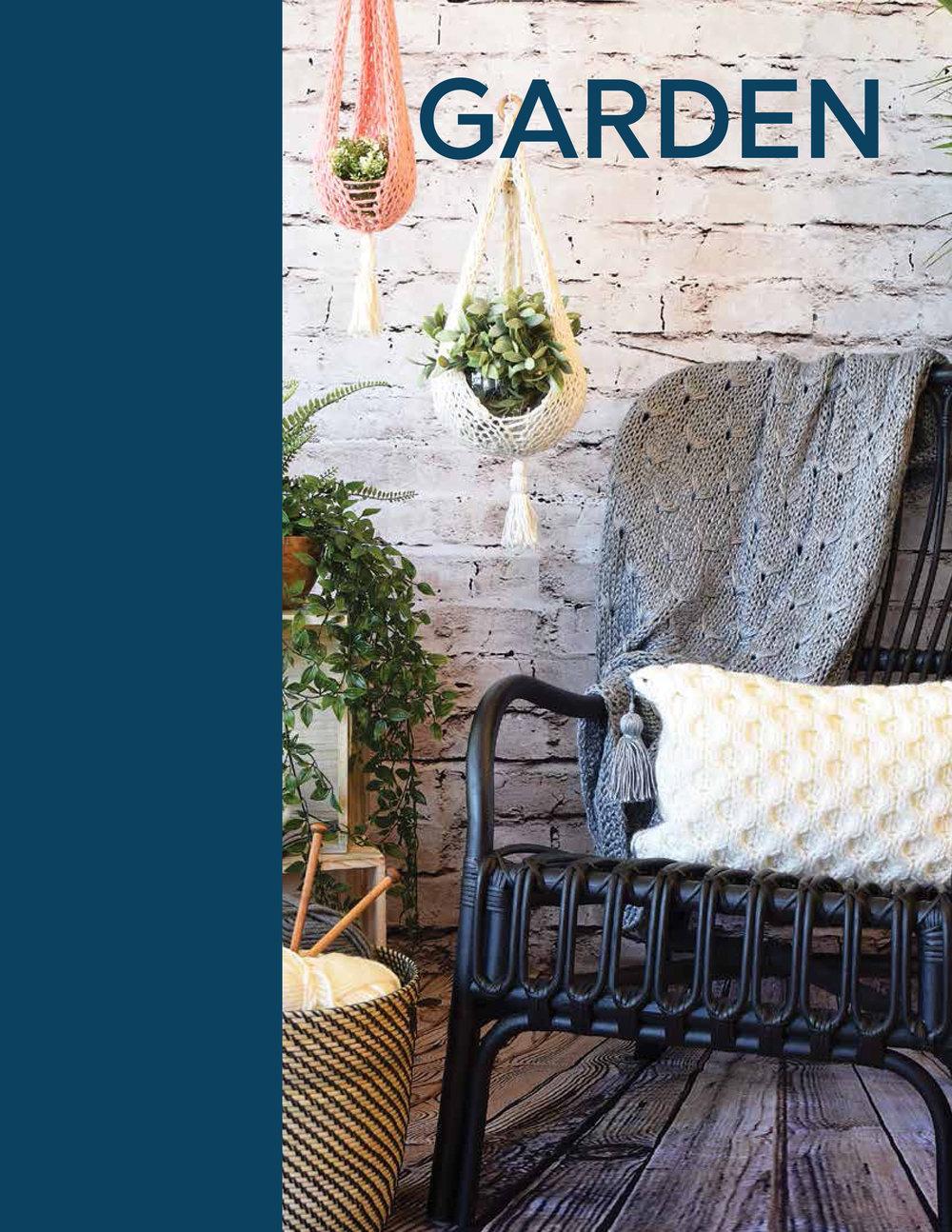Garden - Dandelion ThrowHoneycomb CushionTerrarium Sling