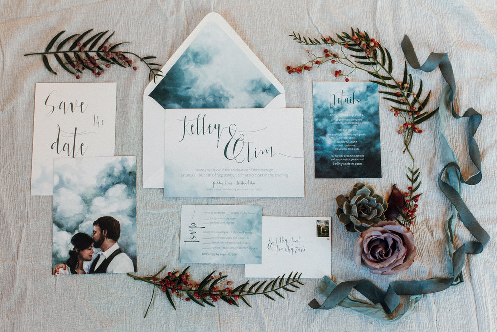 Photograph by  Suzuran Photography.   Invitations designed with  Lovely Somethings .  Staging by  A Charming Fete .