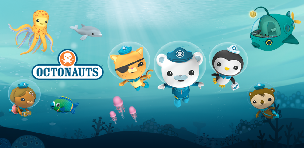 The Octonauts: Created by Vicki Wong & Michael C. Murphy of Meomi Design, Inc., Produced by Silvergate Media, App Designed & Developed by Night & Day Studios