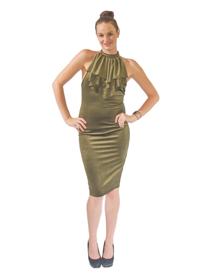 Olive Green Velvet Party Dress-Online Sale Burgundy Jacket, Buy ...