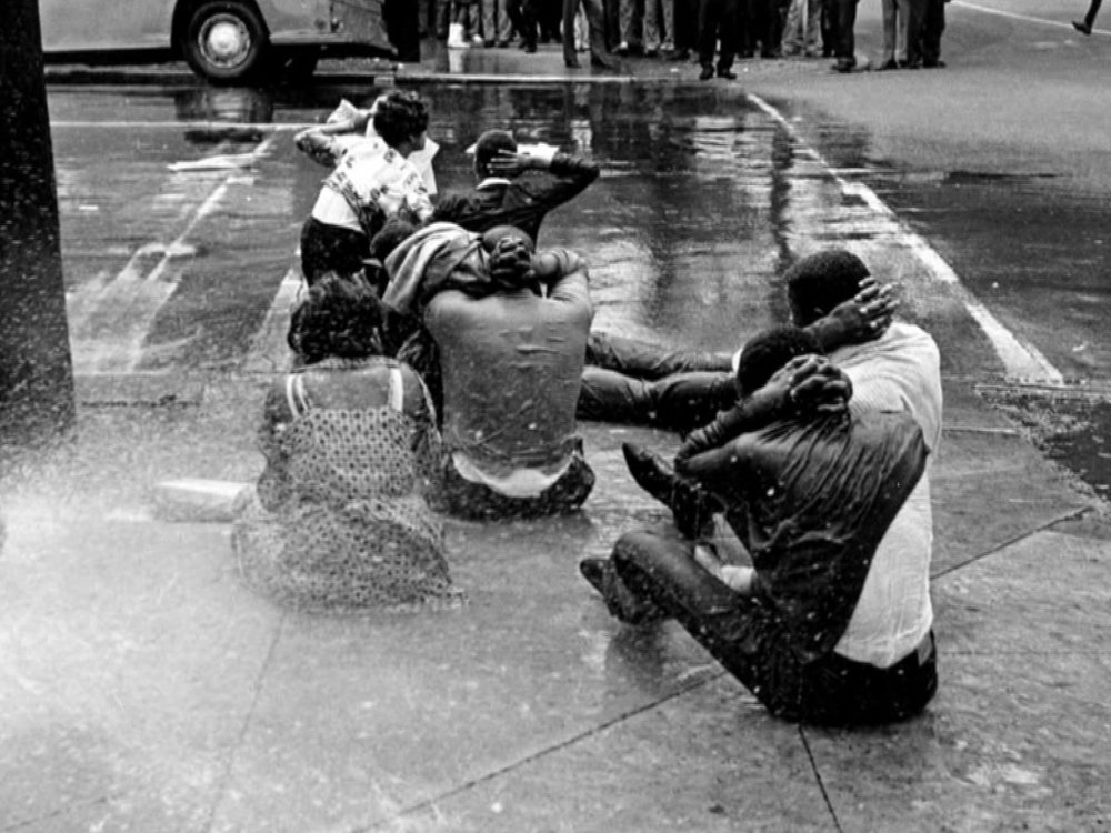 Source: MSNBC; children being sprayed by police hoses in Birmingham, AL.