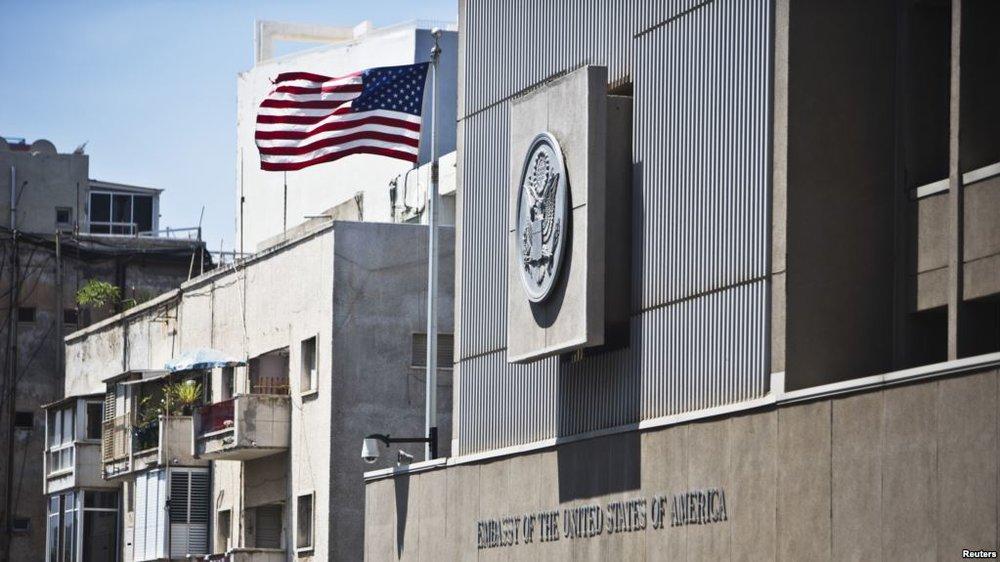 Source: VOA; current U.S. Embassy in Tel Aviv. Israel.