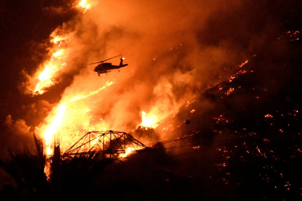 Source: NY Times; wildfires fueled by extreme weather