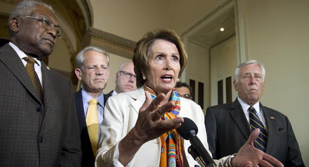 Source: Politico; Nancy Pelosi on camera.