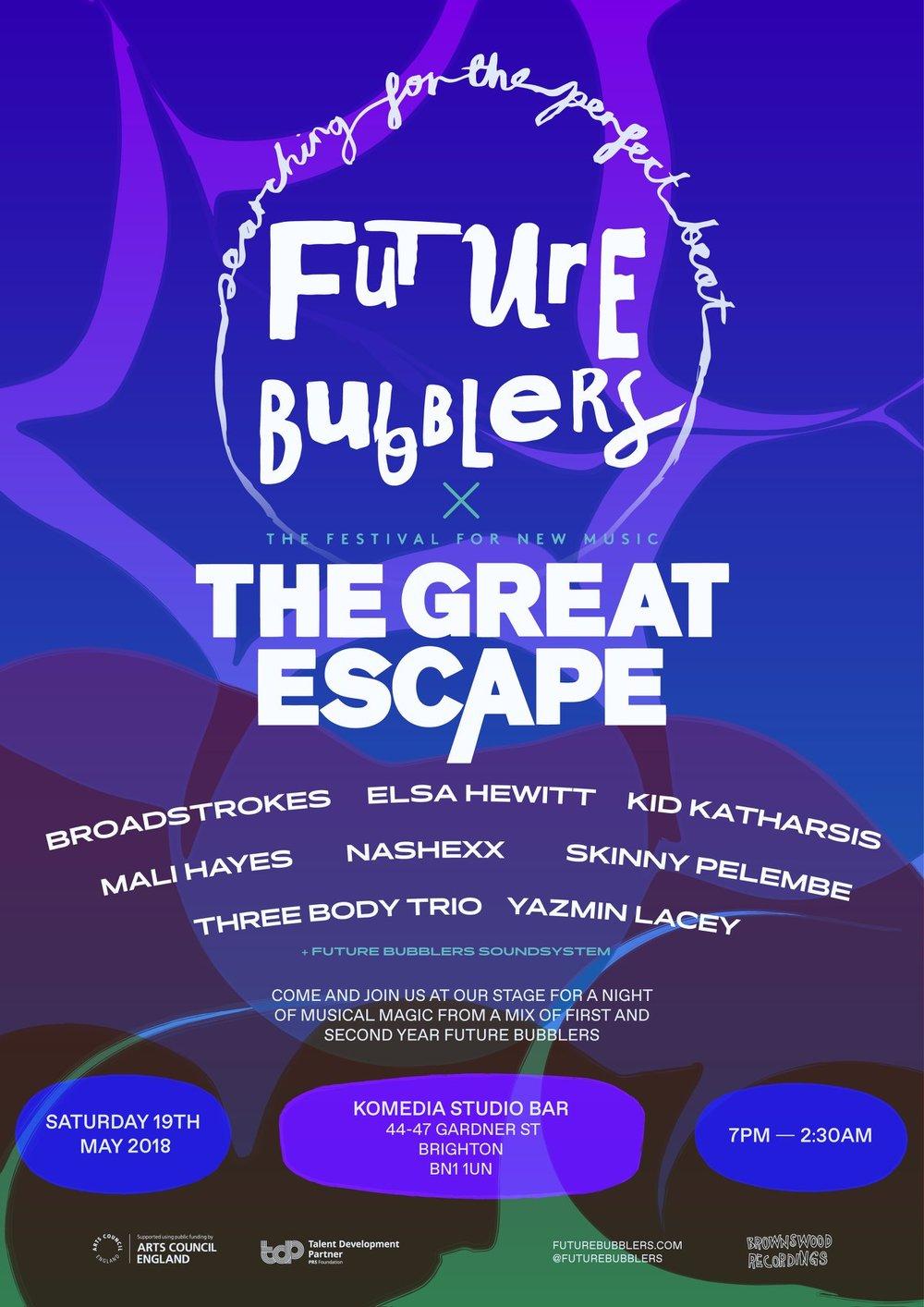 Future Bubblers @ The Great Escape