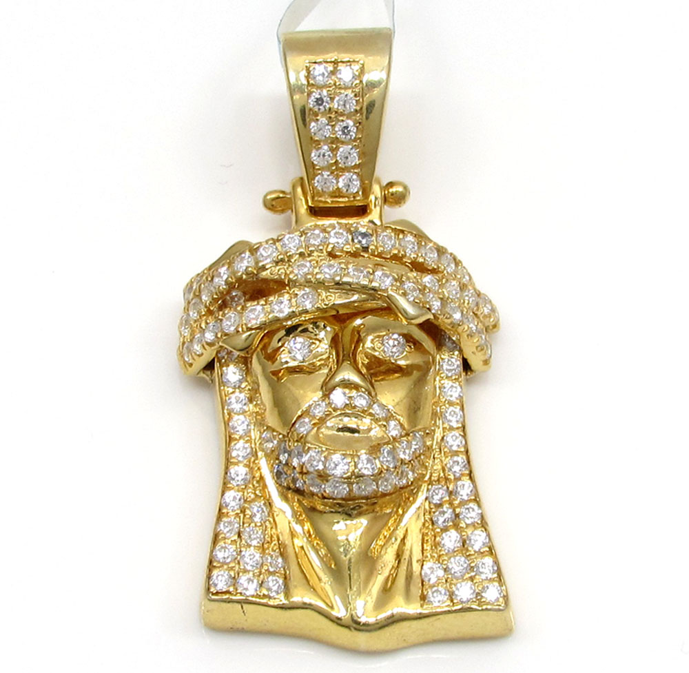 yellow charm baby of pendant i gun in bling gold cartoon master diamond lab finish character with