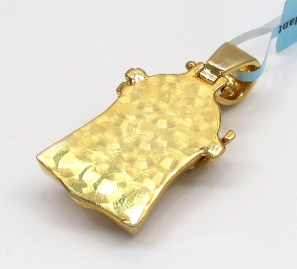 925 sterling silver small jesus piece lab diamond pendant w chain 925 sterling silver small jesus piece lab diamond pendant w chain aloadofball Image collections