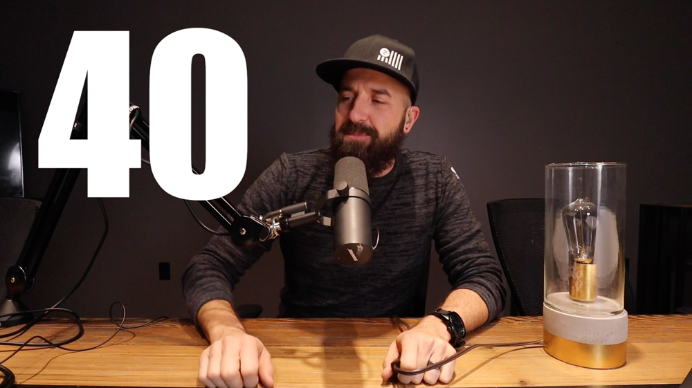Turning 40 and Taking the Time to Think - Episode 40