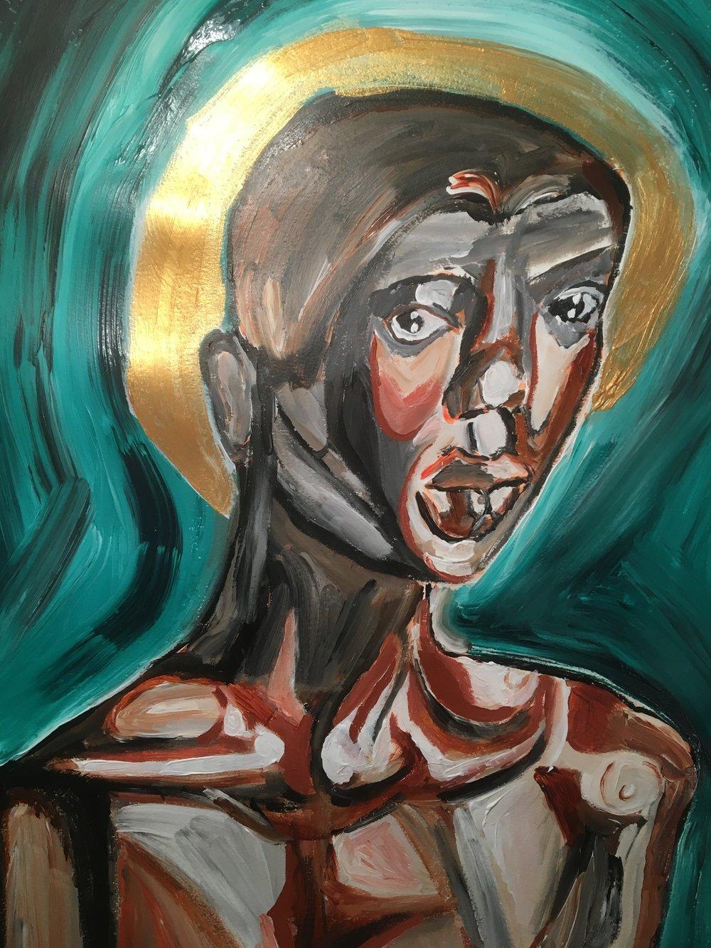 God Head, Morgan Peterson, Acrylic on canvas, 18x24, $200.JPG