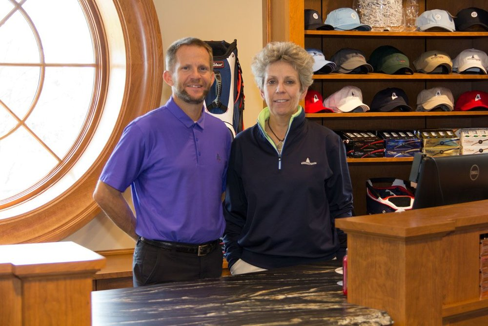 Expertly-stocked Pro Shop