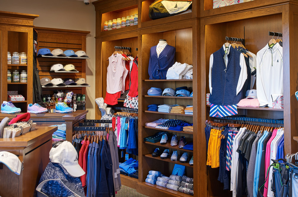 We offer the best clothing and equipment from all of the biggest names in golf