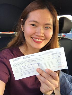 Roma passes overseas conversion practical driving test VTNZ Wiri