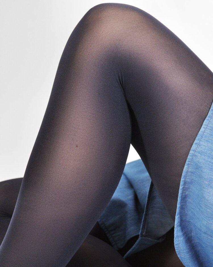 15e836e49d7 Swedish Stockings Olivia Tights in Navy - 60 denier — One Small Shop