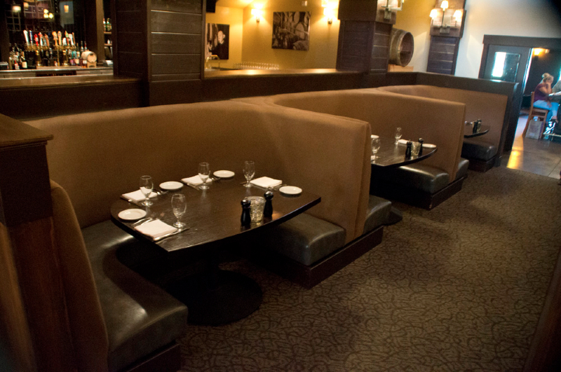 Restaurant & Bar Commercial Design Project | Northern, CA | Dining Booth Design