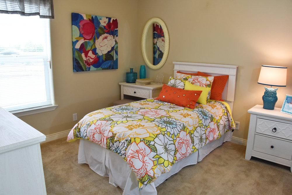 Model home bedroom interior design | Pacific Northwest