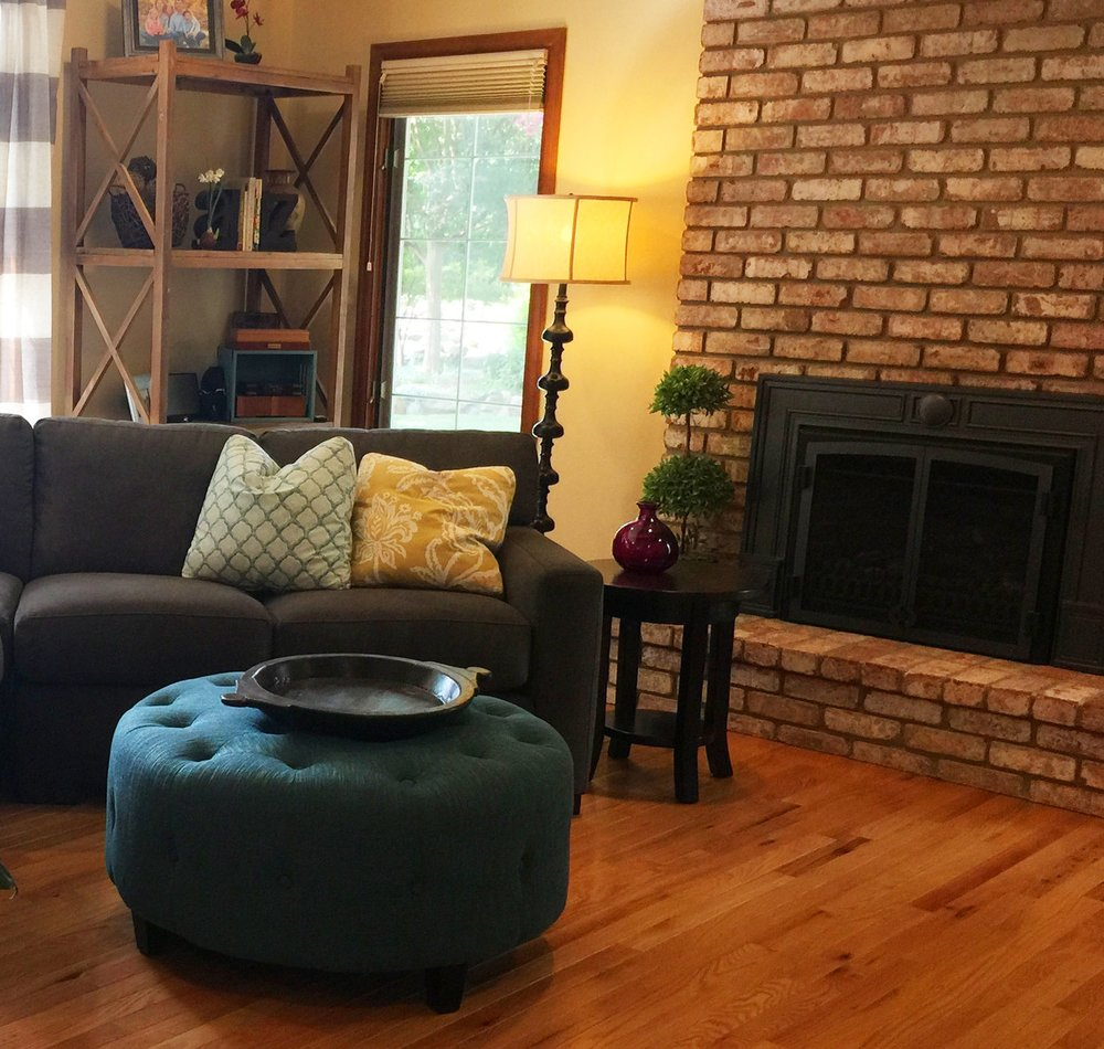 Roble Vista Family Room Remodel