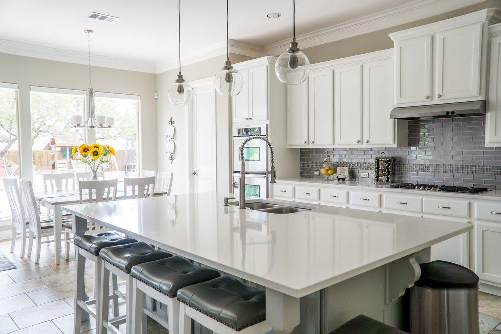 Contemporary Kitchen Island | Open Concept Kitchen