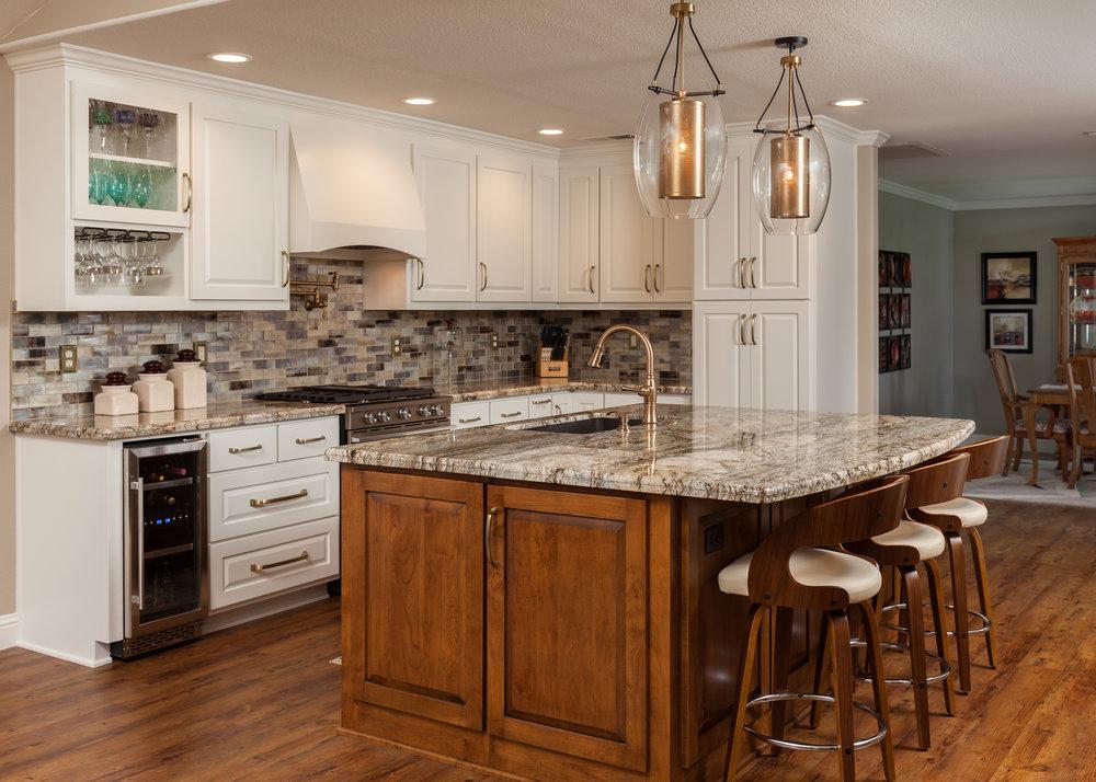 Contemporary Open concept kitchen remodel in Chico, CA